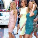 Erin Heatherton, Karlie Kloss, and Behati Prinsloo at