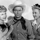 Joyce Compton, Roy Rogers & Phyllis Brooks