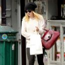 Dakota Fanning was spotted out and about in Manhattan yesterday, October 3