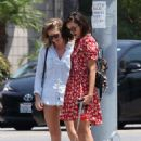 Nina Dobrev – Takes her dog Maverick out for a walk in LA August 7, 2017 - 454 x 681