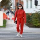 Olivia Munn – out in Santa Monica