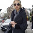 Anna Kournikova - Out And About In London, 04.12.2007.