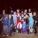 Slash with family and friends on Halloween