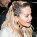 Rita Ora – Arrives at 'C a Vous' TV show in Paris
