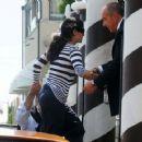 Salma Hayek - Candids Out In Venice, April 26 2009
