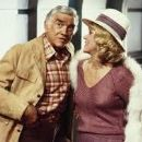 Audra Lindley and Lorne Greene