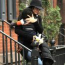 Sandra Bullock and Louis: Big Apple Bonding
