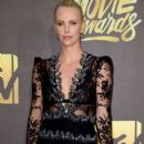 Charlize Theron attends the 2016 MTV Movie Awards at Warner Bros. Studios on April 9, 2016 in Burbank, California