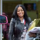 Blac Chyna Out in Calabasas, California - May 7, 2015