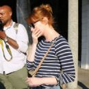 Actress Emma Stone is seen leaving the Meche Salon in West Hollywood, California on June 8, 2016 - 454 x 581