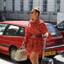 Megan Barton-Hanson in Mini Dress – Out in London - 454 x 647