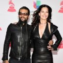 Draco Rosa and Angela Alvarado- The 17th Annual Latin Grammy Awards- Red Carpet - 454 x 591