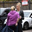 Gemma Atkinson – Arriving at Hits Radio in Manchester - 454 x 729