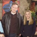 Conan O'Brien and Lisa Kudrow