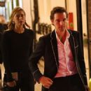 Maria Sharapova and boyfriend Alexander Gilkes – Out in London - 454 x 500