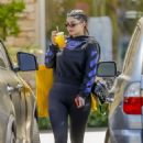 Kylie Jenner in Leggings out in Calabasas