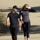 Sophie Turnerand Joe Jonas hike at Runyon Canyon Park in Hollywood Hills