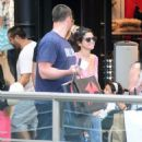 Selena Gomez did a little shopping in Buenos Aires yesterday, February 8. She was joined by her mother and step-dad