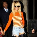 Bleach Blonde Rihanna's Late Night In LA