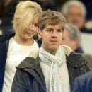Sebastian Vettel and Hanna Prater - 454 x 573