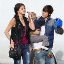 Justin Bieber & Selena Gomez's Benihana Lunch Date