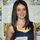 Alison Brie - 'Community' Red Carpet During Comic-Con 2010 At The San Diego Convention Center On July 24, 2010 In San Diego, California