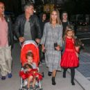 The Alba Family Goes out in NYC