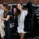 Victoria Justice – Arrives at Alice + Olivia Fashion Show in NYC - 454 x 681