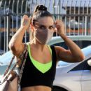 Jenna Johnson-Chmerkovskiy – Arrives at the DWTS studio on Thursday in Los Angeles