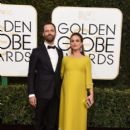 Natalie Portman and Benjamin Millepied : 74th Annual Golden Globe Awards - 399 x 600