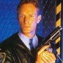 Ted Shackelford as Lieutenant Patrick Brogan in Space Precinct