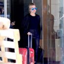 Hailey Baldwin – Spotted catching an early morning flight in NYC - 454 x 602