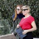 Isla Fisher at Ciccones in Los Angeles
