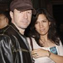 Donnie Wahlberg and Kim Fey