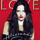 Alessandra Ambrosio Covers 'Love' Magazine