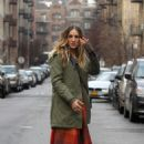 Sarah Jessica Parker on The Set Of 'Divorce' in West Harlem