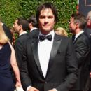 Actor Ian Somerhalder attends the 2014 Creative Arts Emmy Awards at Nokia Theatre L.A. Live on August 16, 2014 in Los Angeles, California