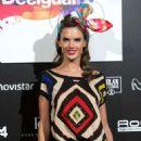 Alessandra Ambrosio Desigual Fashion Show Runway In Madrid