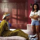 Jamie Kennedy (left) and Regina Hall in Warner Bros. Pictures hip-hop comedy 'Malibu's Most Wanted.'