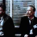 Richard Dreyfuss and Emilio Estevez in Stakeout (1987)
