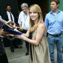 """Emma Roberts - Promoting Her New Film """"Nancy Drew"""" - June 12, 2007"""