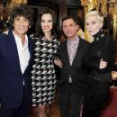 L'Wren Scott and Mick Jagger host private dinner at the Cafe Royal Hotel to celebrate the L'Wren Scott Fall/Winter 2013 Collection - London, UK - 17 February 2013 - 454 x 351