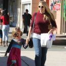 Busy Philipps and her daughter Birdie running errands in Los Angeles, California on December 14, 2013 - 452 x 594
