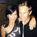 Perrey Reeves and Aaron Fox (tennis Coach) - 454 x 615