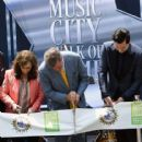 Loretta Lynn and Jack White Induction Into The Nashville Walk Of Fame on June 4, 2015 in Nashville, Tennessee.