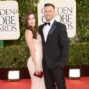 Megan Fox and Brian Austin Green At The 70th Golden Globe Awards (2013) - 400 x 594