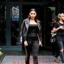 Chantel Jeffries Leaves Lower East Side Hotel in New York City - 454 x 653