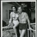 Jeanne Carmen and Lex Barker - 454 x 558