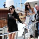 Adriana Lima Out and About In Cannes