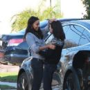 Mila Kunis and Zoe Saldana – Out in Los Angeles
